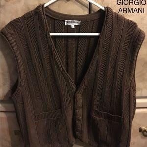 GIORGIO ARMANI LE COLLEZIONI vest S